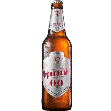 Пиво Черниговское 0.5л безалкогольное