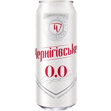 Пиво Черниговское 0.5л безалкогольное ж.б