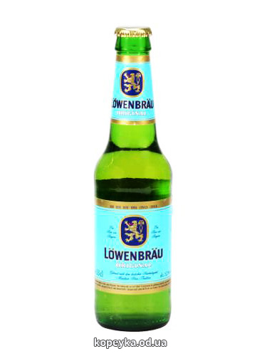 Пиво Левенбрау 0.33л оригинальное
