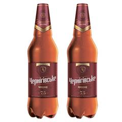Пиво Чернігівське 1л  міцне