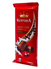 Шоколад Корона 90г молочний пористий
