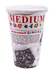 Насіння Кг Medium семе4ки 100г скляночка
