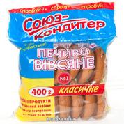 Печиво Союз-кондитер 400г вівсяне