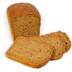 Хліб Одеська паляниця 700г пшенично житній подовий нарізка