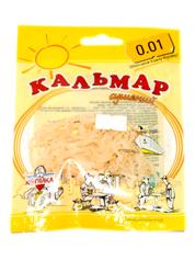 Кальмар 0.01 18г солоно сушений