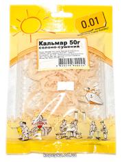 Кальмар 0.01 50г  солоно сушений