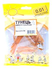 Тунець 0.01 50г  солоно сушений