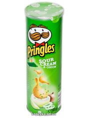 Чіпси Pringles 165г sour cream & onion