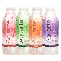 Вода Aquarte 0.5л ацероли апельсин