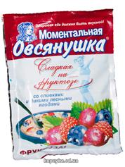 Каша Ваша 40г лісова ягода фруктоза