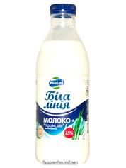 Молоко Белая линия 900г 2.5% пет