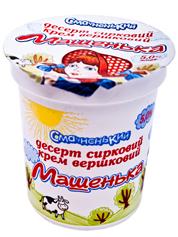 Сирний десерт Машенька 180г 5% ваніль