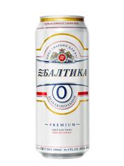 Пиво Балтика 0.5л №0 безалкогольне з.б