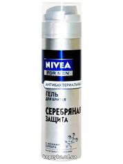 Гель д.гоління Нівея 200мл срібний захист