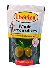 Оливки Іберіка 170г с.к