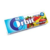 Жевательная резинка Orbit 14г клубника банан подушечки