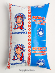 Молоко Словяночка 870г 2.5% пленка ф.п.