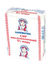 Сир Слов`яночка 202г 9% еколін