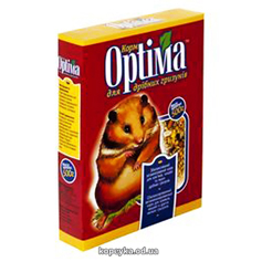 Корм Optima 500г д.гризунів картон