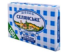 Масло Селянське 100г 73%