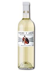 Вино Sangre y Arena 0.75л бланко семідульче біле н.солодке