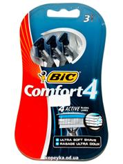 Бритва Bic comfort 3шт 4лезвия  888028