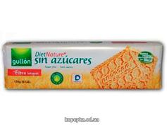 Печиво Gullon 170г diet nature fibra вівсяне