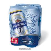 Пиво Балтика 4х0.5л №7 ж.б