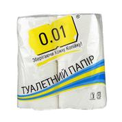 Туалетний папір 0.01 2х сл 4шт