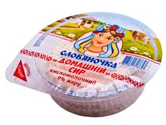 Сир Славяночка домашнiй 180г 9%