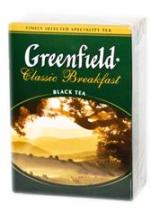 Чай Greenfield 100г класик сніданок