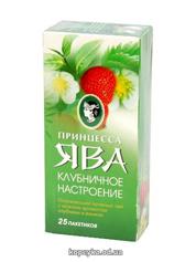 Чай Принцеса Ява 25п зелений полуничний настрій