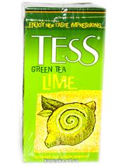 Чай Тесс 25п lime зелений