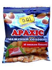 Арахіс 0.01 35г сіль бекон