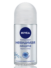 Дезодорант Нівея 50мл невидима чистота ролер   82240