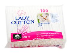 Палички ватні Lady Cotton 100шт п.п