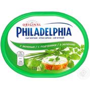 Сир Крафт 175г 67% філадельфія зелень