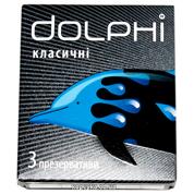 Презервативи Dolphi класік 3шт