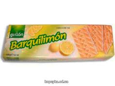 Вафлі Gullon 150г barquinata лимонні