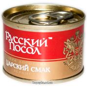 Ікра лососева Російський посол 60г царський смак ж.б