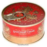 Ікра лососева Російський посол 130г царський смак ж.б