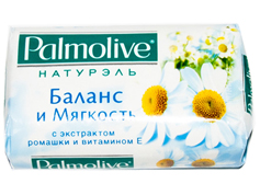 Мило Palmolive 90г натюрель ромашка вітамін Е
