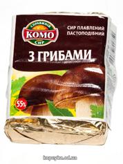 Сир пл. Комо 90г гриби 55%