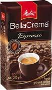 Кофе Melitta 250г беллакрема эспрессо молотый