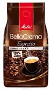 Кофе Melitta 1кг беллакрема эспрессо зерно