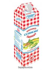 Молоко Селянське 950мл 3.2% особое т.п