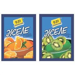 Желе 0.01 90г апельсин