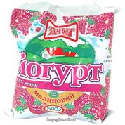 Йогурт Злагода 400мл 1.5% малина п.е