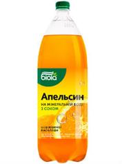 Вода Біола 2л смак апельсину