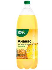 Вода Біола 2л смак ананасу
